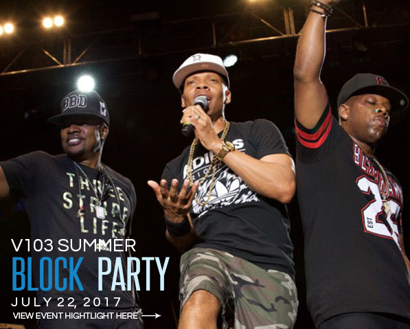 V103 Block Party – July 2017