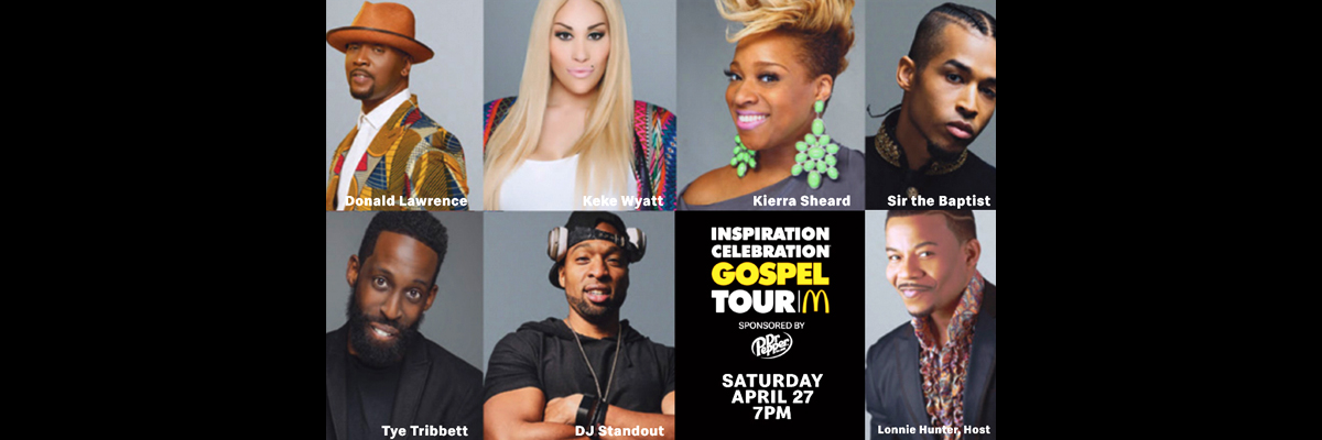 Inspiration Celebration Gospel Tour | BMOA
